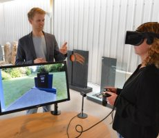 grafsteen in virtual reality