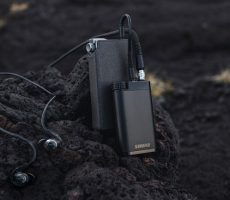 Shure-oortelefoon