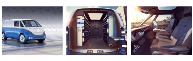 I D Buzz Cargo Eerste Bedrijfswagen Van Elektrische I D Familie
