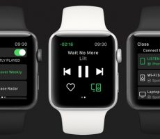 Spotify-app-Apple Watch