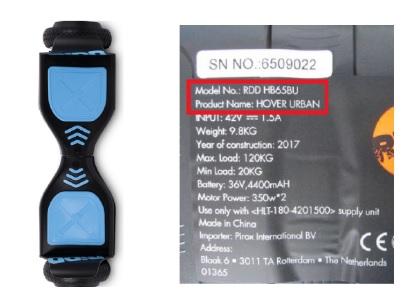 hoverboard-veiligheidswaarschuwing