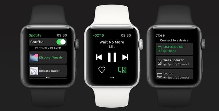 Spotify introduceert app voor Apple Watch