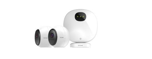 D-Link kondigt haar eerste draadloze bewakingscamera kit aan