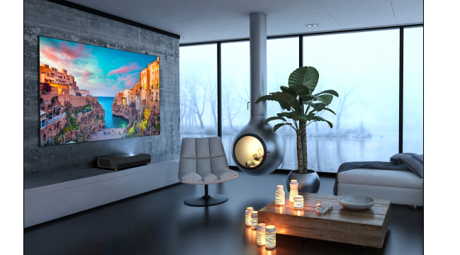 Optoma-4K-UHD-ultra-short-throw-laserprojector