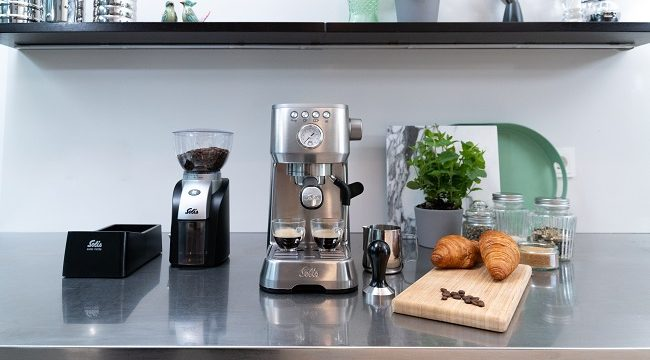 Solis-Perfetta Plus-espressomachine
