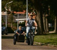 Phatfour e-bike zijspan