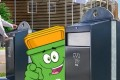 Binny: verpakkingen in de juiste afvalbak!